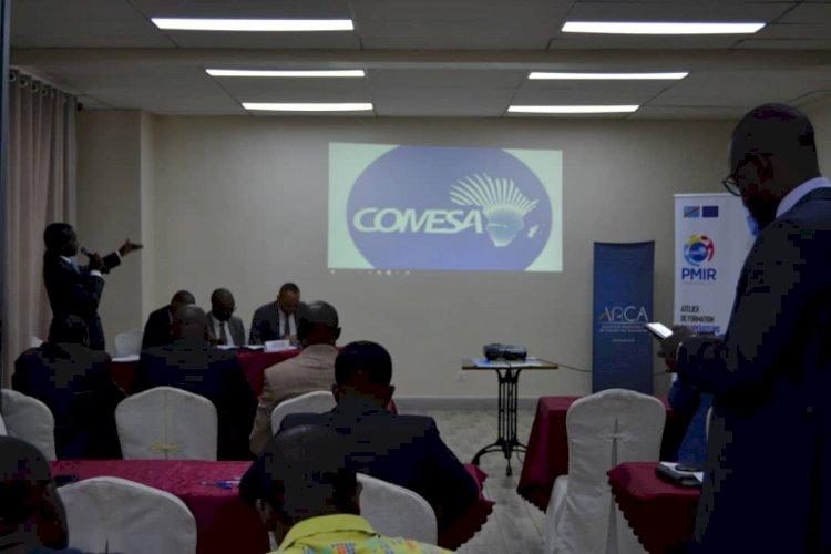 Goma: COMESA sensibilise sur l'importance de la carte jaune aux usagers de la route