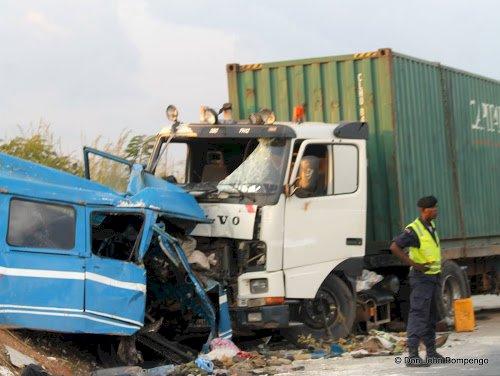 Haut-Katanga; 12 morts dans un accident de circulation sur la route Lubumbashi-Kasumbalesa