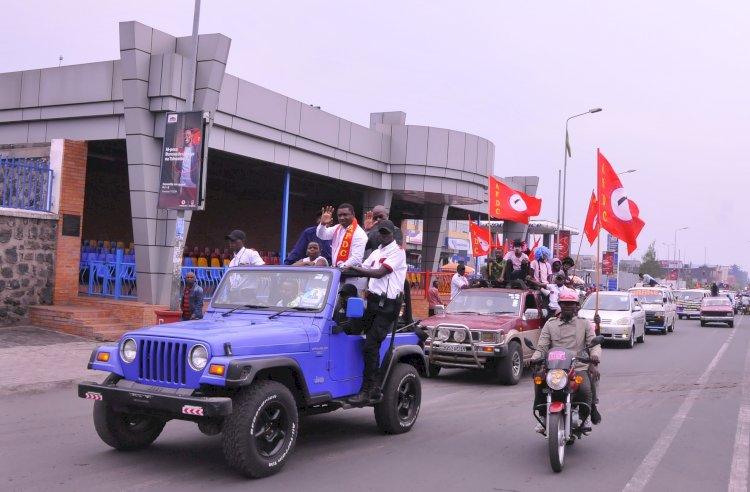 Goma: Patrick Munyomo arrive, toute la ville en ébullition