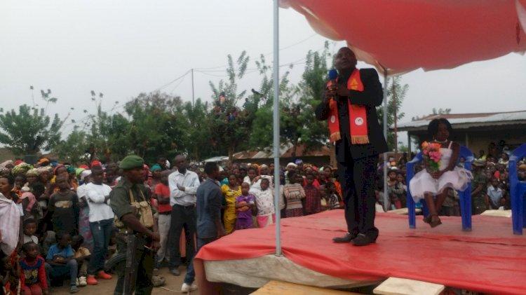 Rutshuru: Katembo Muzeese lave devant sa base électorale