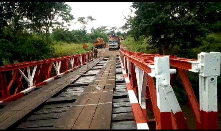 Nord kivu : Pont Mabenga réhabilité, Le programme de 100 jours du Chef de l'Etat en marche
