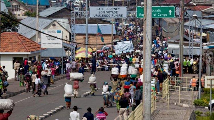 GOMA : Les petits commerçants dénoncent les tracasseries à la petite barrière RDC-Rwanda