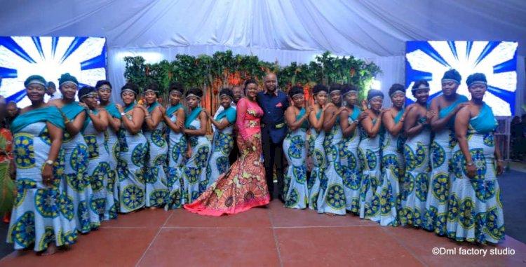 Kinshasa: Le mariage coutumier exceptionnel de deux jeunes célèbres, parle de lui même