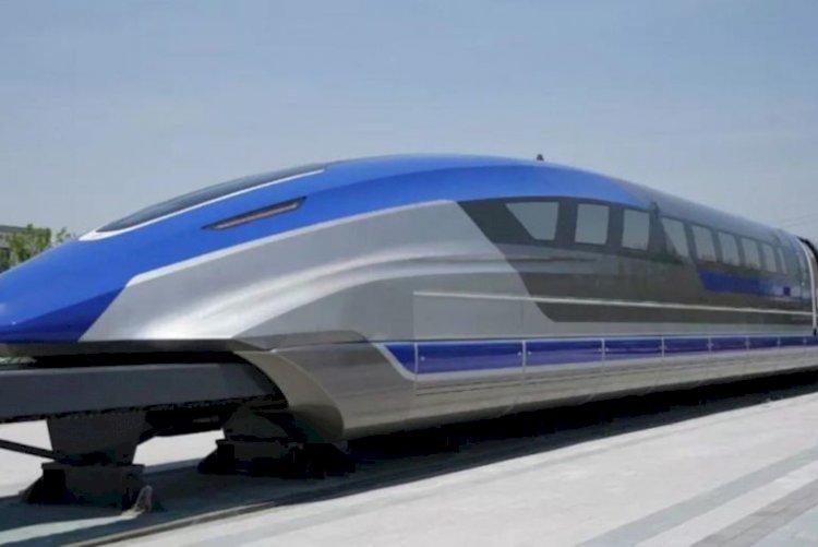 Un nouveau prototype de train vient d'être dévoilé en Chine