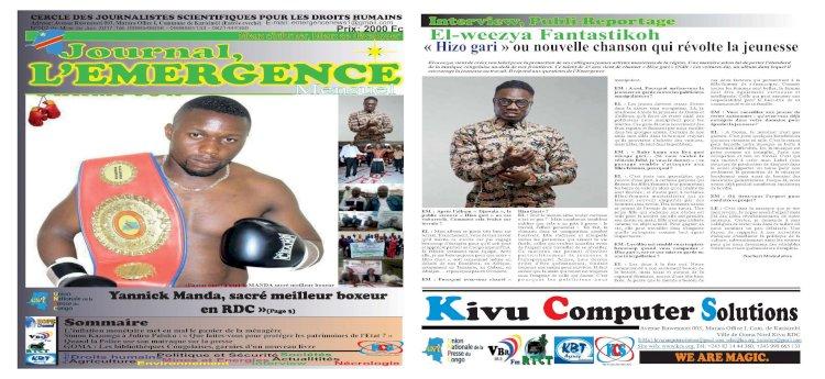 Yannick Manda, sacré meilleur boxeur en RDC