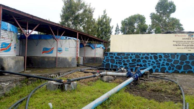 Goma: Yme Jibu dessert la population de l'Ouest de la ville en eau potable