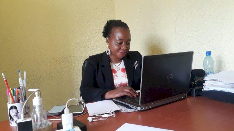 Marie Noëlle Kabuya Kalambaie, une journaliste façonnée par son métier