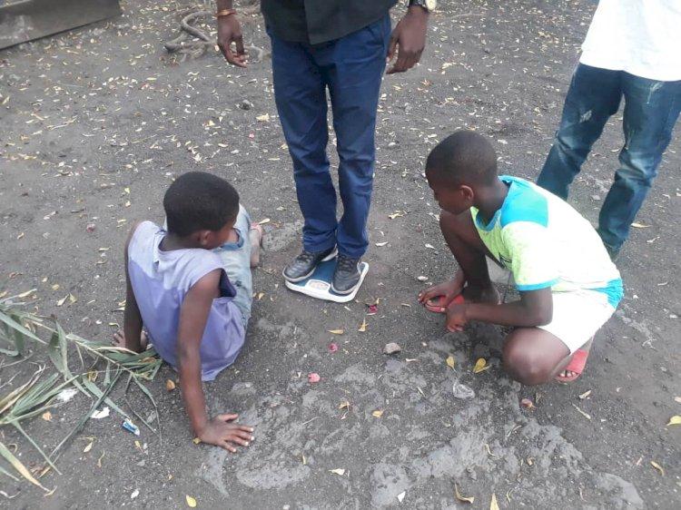 Goma: Un certain Damien exploite les enfants sous l'œil impuissant des agents de l'ordre