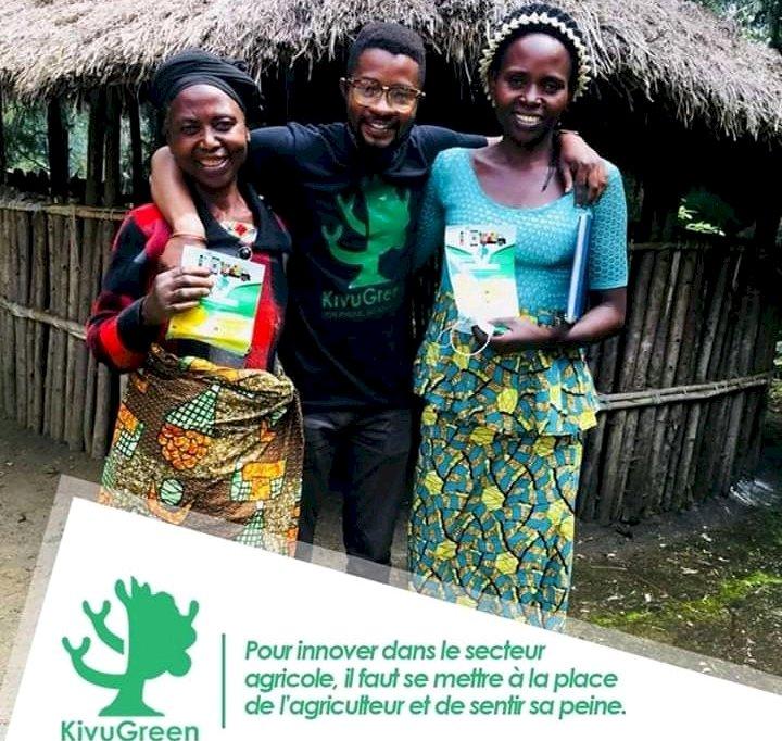 Entrepreneuriat : Kivu green, une entreprise qui révolutionne et numérise l'agriculture congolaise.