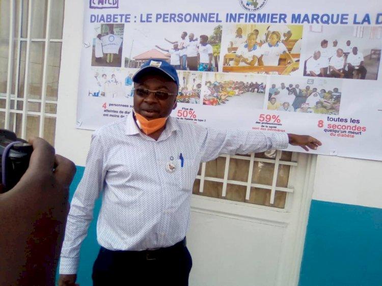 Goma: Le diabète est une maladie qui tue de manière très lente et inattendu, dixit Alfred Adifundi