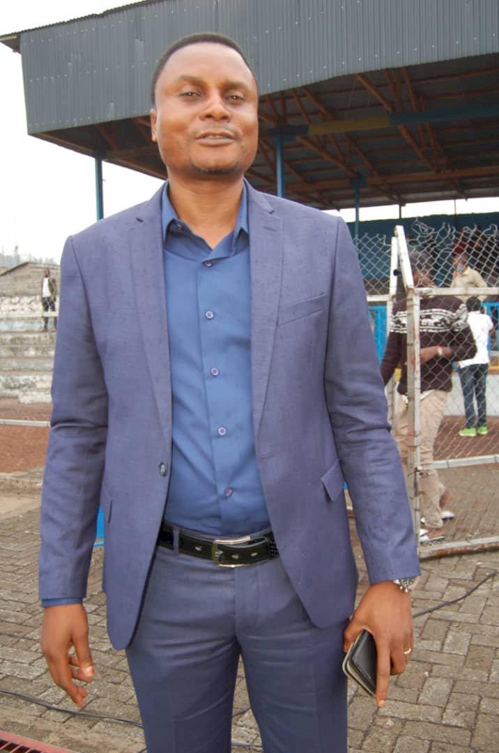 EUFGO : de la carrière de footballeur à la présidence de l'entente de Goma, Christian Lumwanga