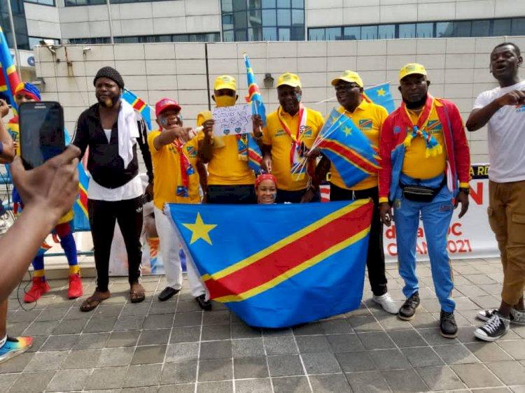 """CHAN 2020 : """"allez-y léopards""""  plus que mobilisés  à  Yaoundé malgré la Covid 19"""