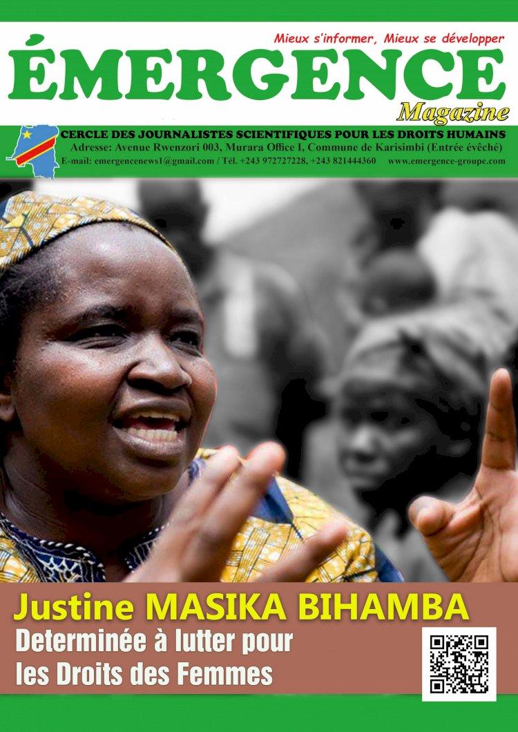 Justine Masika Bihamba, Déterminée à lutter pour les droits des femmes