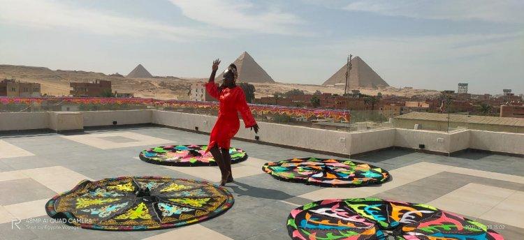 Partie en vacances, la diva Voldie mapenzi réalise un  nouveau  clip au Caire.