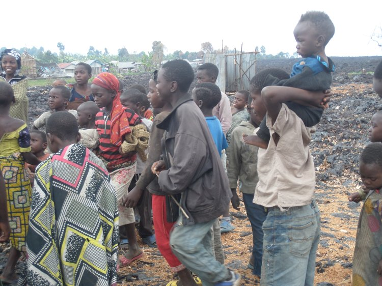 Goma:Le calvaire des sinistrés du volcan Nyiragongo après leur déguerpissement à Kasika (reportage)