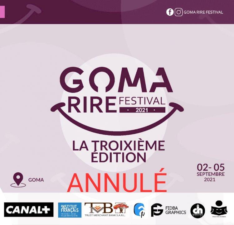 Goma: Ce qu'il faut retenir du report de Goma Rire Festival !