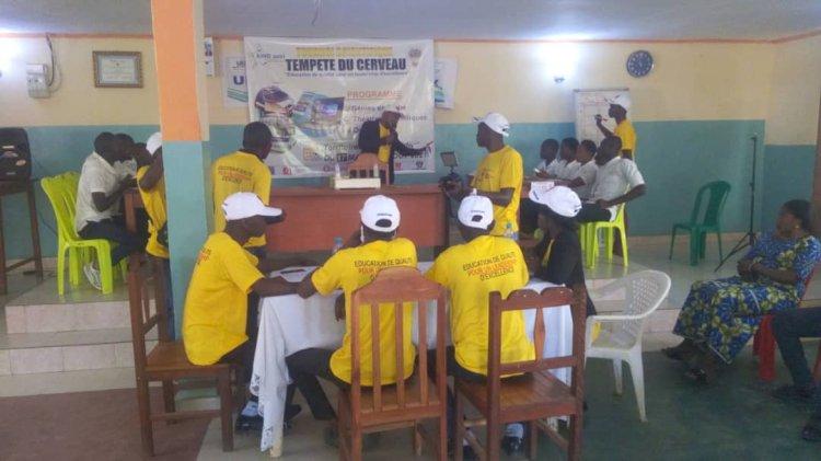 Sud-Kivu/Idjwi : « tempête du cerveau » ce tournoi scientifique auquel prennent part les élèves