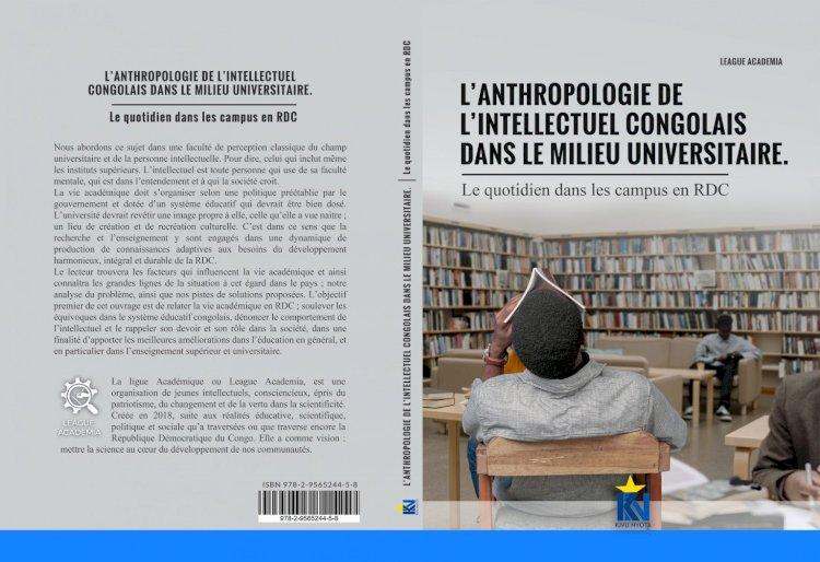 «L'anthropologie de l'intellectuel congolais dans le milieu universitaire», un livre qui peint la vie académique de l'étudiant congolais.